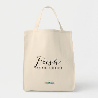 Organic Grocery Tote: Fresh — from the inside out