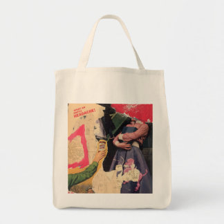 Organic Grocery Tote: Headache Grocery Tote Bag