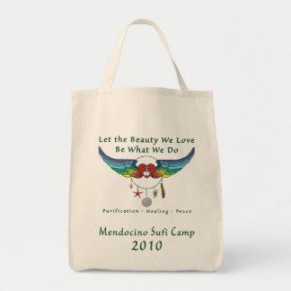 Organic Grocery Tote - Mendocino Sufi Camp 2010