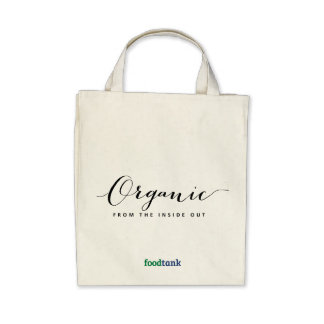 Organic Grocery Tote Organic —from the inside out Tote Bag