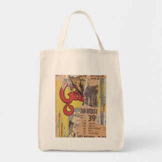 Organic Grocery Tote: Roast Grocery Tote Bag