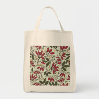 Organic Grocery Tote with barberry