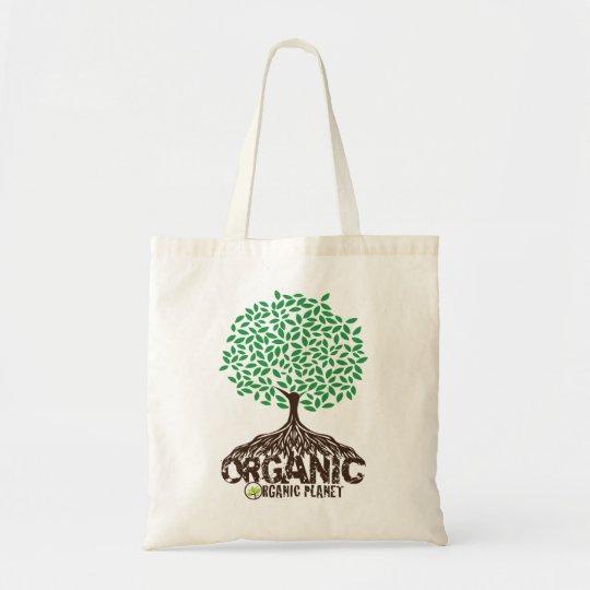 Organic Grown Tree Reusable Canvas Bag