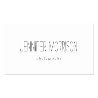 Organic Hand-Written Photographer s Business Card