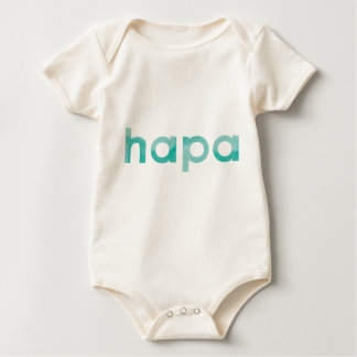 Organic Hapa Baby Bodysuit