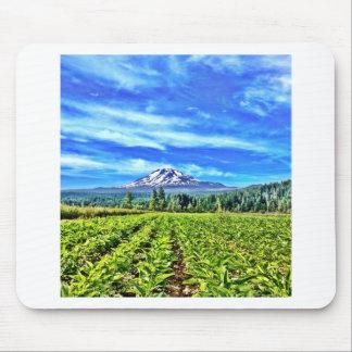Organic herb farm mousepads