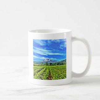 Organic herb farm coffee mug