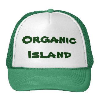 Organic Island Trucker Hat promote organic farming