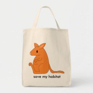 organic kangaroo grocery bag
