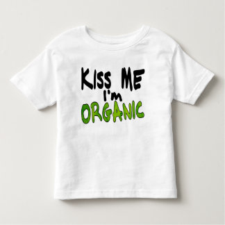 Organic Kiss Kids Shirt