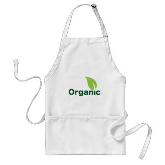 Organic leaf standard apron