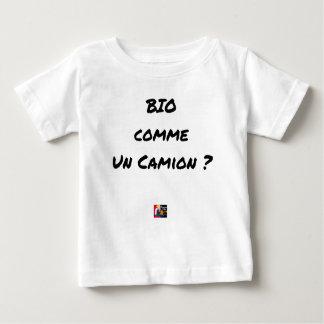 ORGANIC LIKE A TRUCK? - Word games Baby T-Shirt