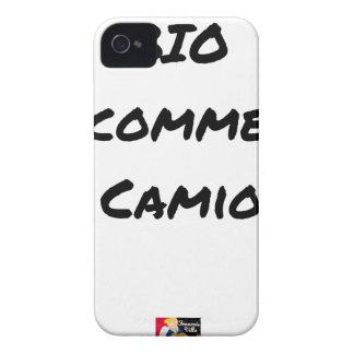ORGANIC LIKE A TRUCK? - Word games Case-Mate iPhone 4 Case