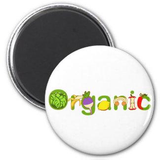 Organic 6 Cm Round Magnet