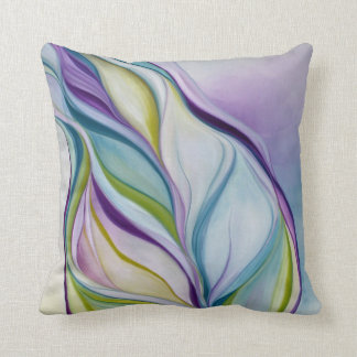 Organic Naturalism purple Throw Pillow