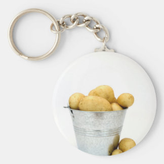 Organic new potatoes key ring