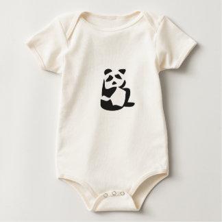 Organic panda onsie! bodysuit