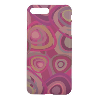 Organic pink iPhone 7 plus case