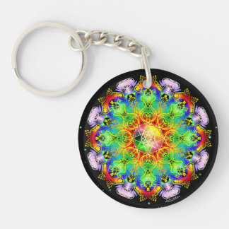 Organic Process/Inner Strength Key Ring