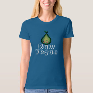 Organic Raw Vegan Smiling Pear Shirt
