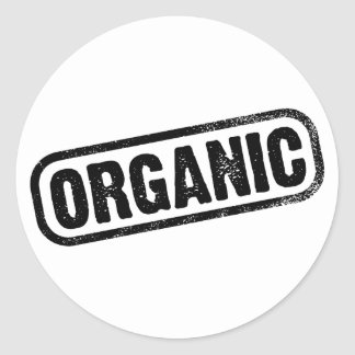 Organic Round Stickers