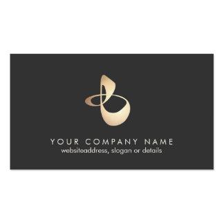 Organic Shape Logo Business Card