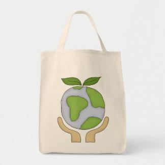 Organic Shopping Tote-Go Green Environment Tote Bags