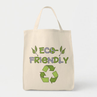Organic Shopping Tote-Go Green Environment Grocery Tote Bag