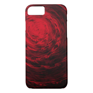 Organic Spiral3 Red - Apple iPhone Case
