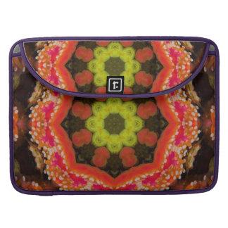 Organic Star Mandala Sleeve For MacBooks