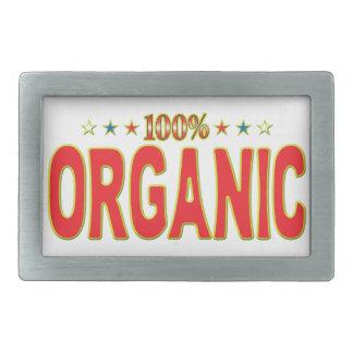 Organic Star Tag Rectangular Belt Buckles