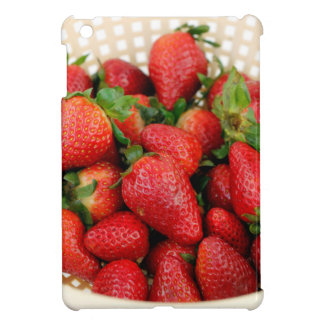 Organic Strawberries in a Colander Case For The iPad Mini
