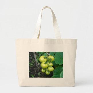 Organic Tomatoes Jumbo Tote Bag