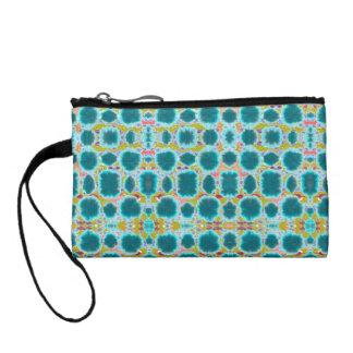 Organic tribal pattern purse coin wallets