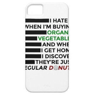 Organic Vegetables Love Donuts Case For The iPhone 5