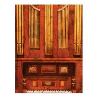 Organist - Skippack  Ville Organ - 1835 Postcard