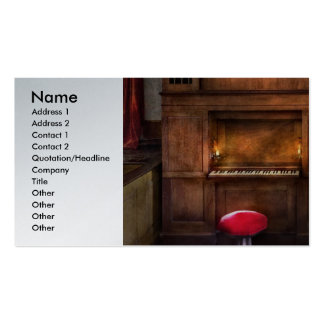 Organist - What a big organ you have Business Card Templates