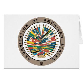 Organization of American States, English Greeting Cards
