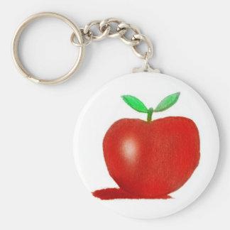 orginal drawing apple key ring