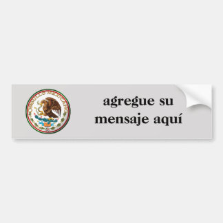 Orgullo Mexicano Bumper Sticker