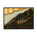 Orient Express vintage postcard
