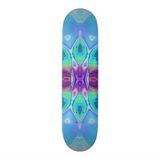 oriental abstract turquoise purple butterfly