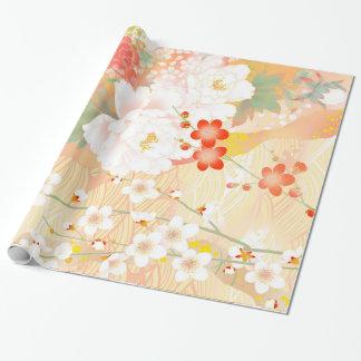 Oriental Accent Japanese Floral Soft Colours