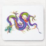 Oriental Asian Dragon Tattoo Mouse pad