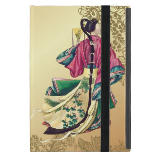 Oriental Beauty on Gold Case For iPad Mini