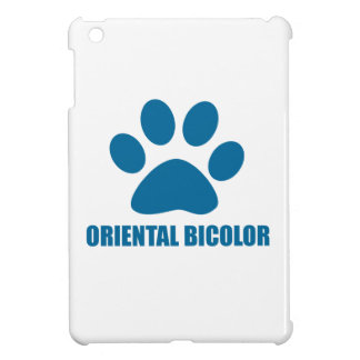 ORIENTAL BICOLOR CAT DESIGNS iPad MINI COVER