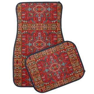 Oriental Carpet Repeating Pattern Photo Print Floor Mat