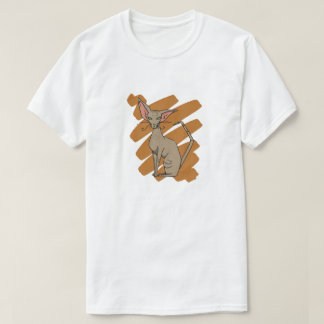 Oriental Cat scratch T-Shirt