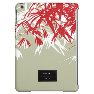 Oriental Chic Modern Zen Bamboo Leaves iPad Case