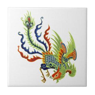 Oriental Chicken Vintage Art Ceramic Tile